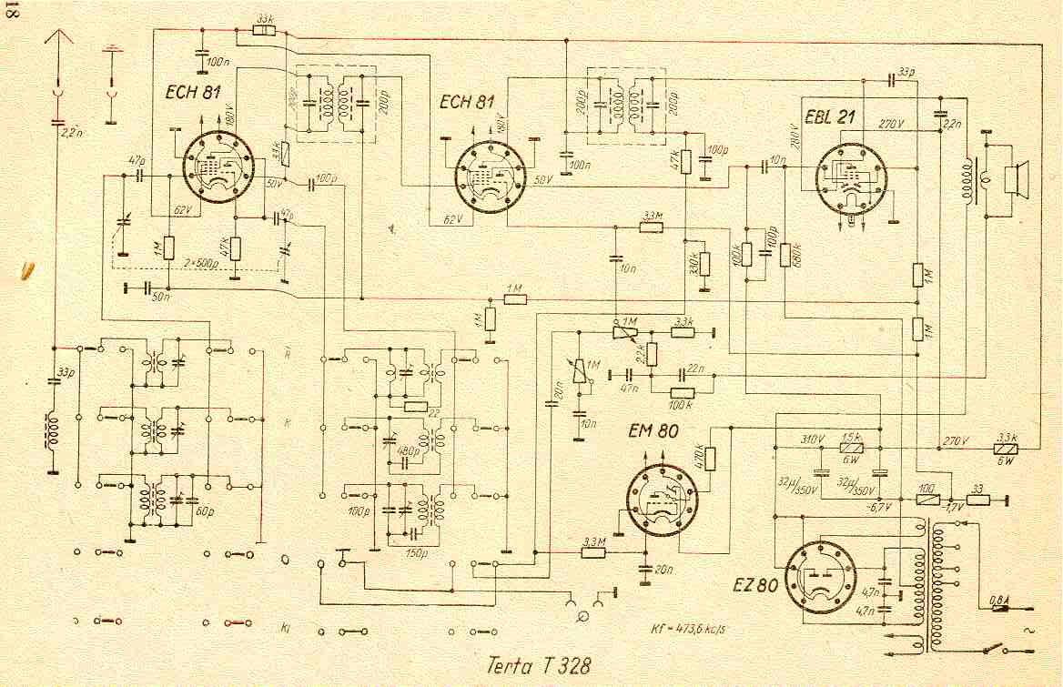 Trt 328 A on a c circuit diagram