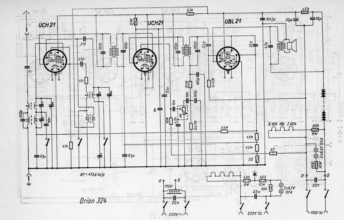 Orion R 324. Schematic Diagram Here. Wiring. Philips Tube Radio Schematics At Scoala.co